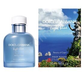 Light Blue Beauty of Capri Pour Homme