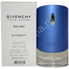 GIVENCHY Pour Homme Blue Label (тестер)